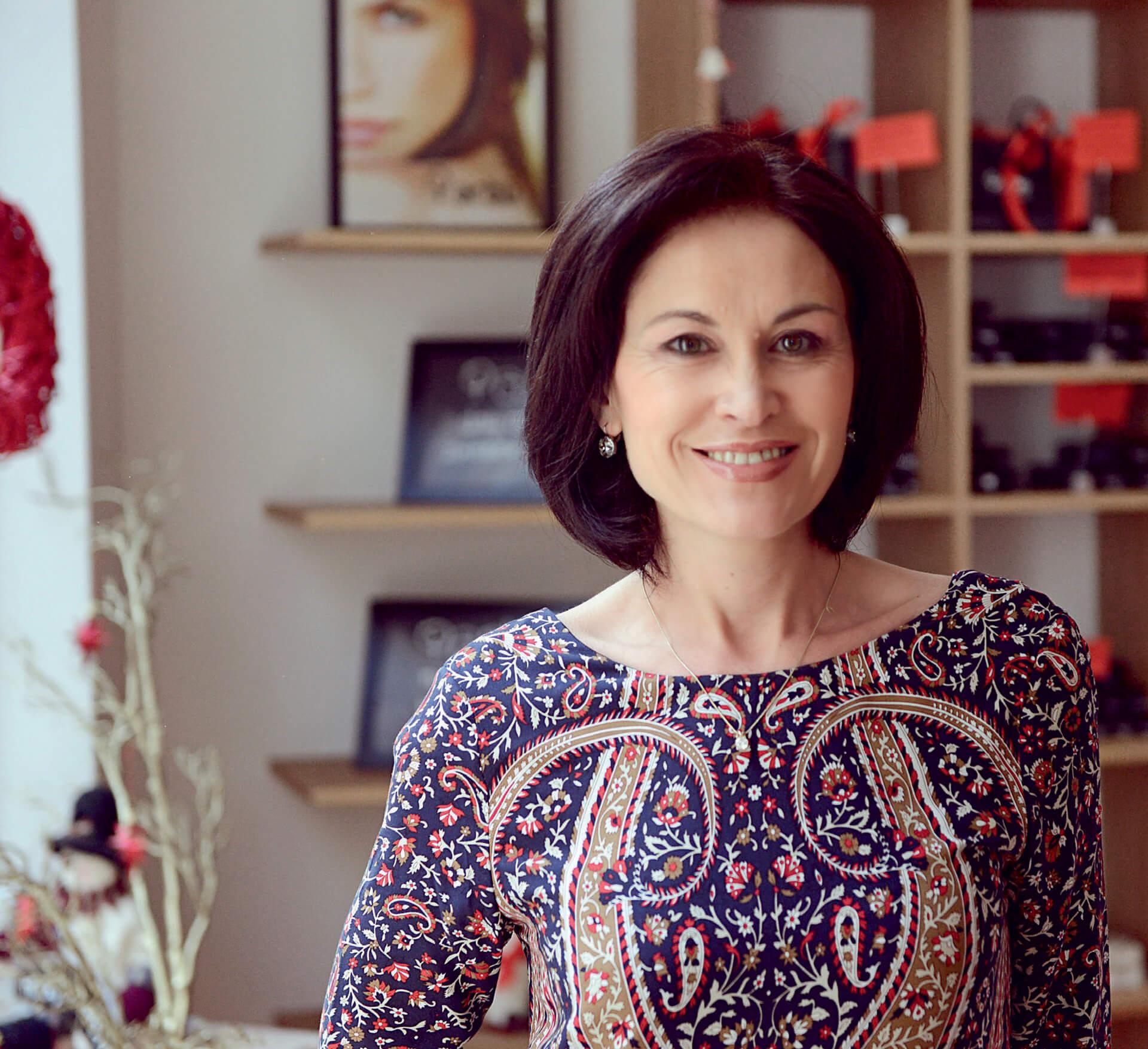 Violeta Malinova, clean beauty pioneer and arbū founder and CEO
